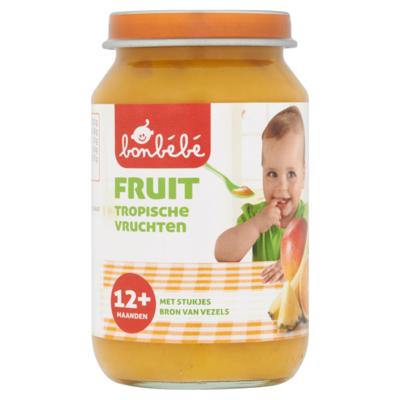 Bonbebe Fruit Tropische Vruchten 12+ Maanden 190 g