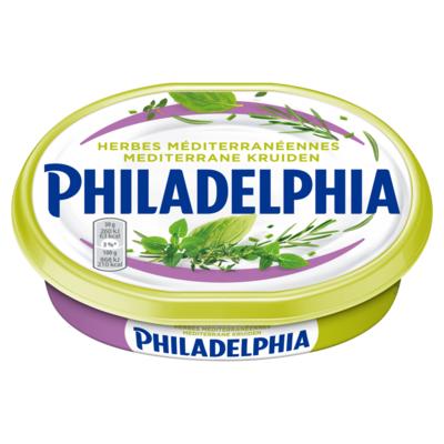 Philadelph Roomkaas Original Mediterrane Kruiden 185 g