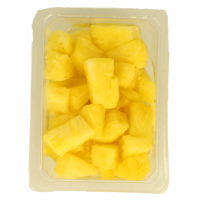 Verse ananas stukjes