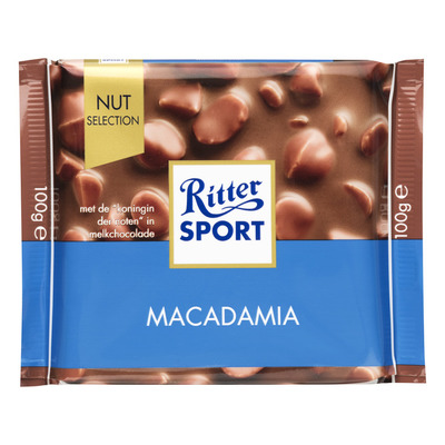 Ritter Sport Nut selection macadamia