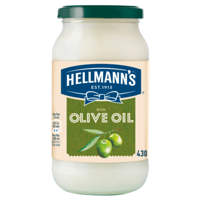 Hellmann`s Saus met Olijfolie 430 ml