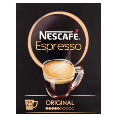 Nescafe Oploskoffie espresso 25 stuks