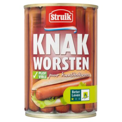 Struik Knakworsten 400 g