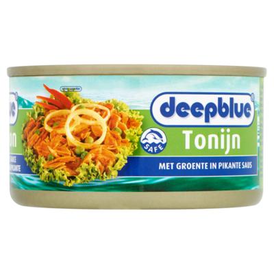 Deep Blue Tonijn met groente