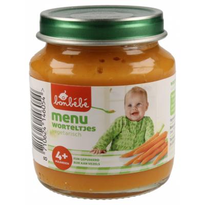 Bonbebe Maaltijd 4 maanden worteltjes
