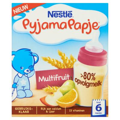 Nestle Pyjamapapje multifruit 2x 250 milliliter