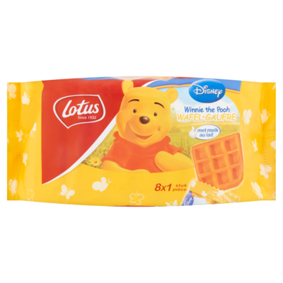 Lotus Disney Winnie the Pooh Wafel 8 x 28 g