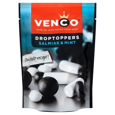 Venco Droptoppers Salmiak & Mint 287 g