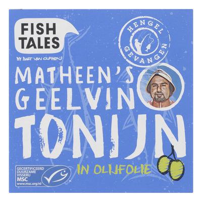 Fish Tales Geelvin tonijn in olijfolie
