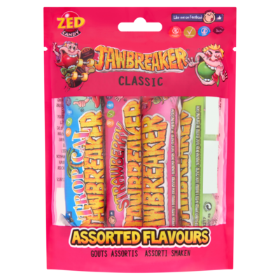 Zed Jawbreakers 4-pack