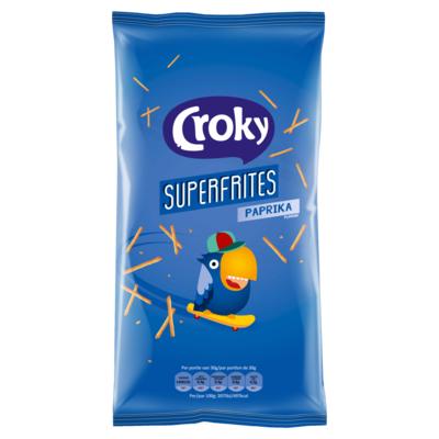 Croky Superfrites Paprika Flavour 150 g