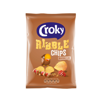 Croky Ribble Chips Barbecue