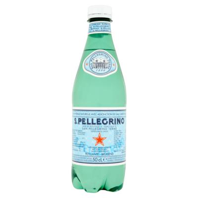San Pellegrino S.PELLEGRINO® Licht Bruisend Natuurlijk Mineraalwater 0,50 L