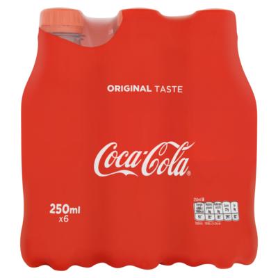 Coca Cola Regular 6 x 25cl