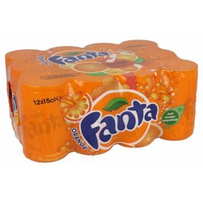 Fanta Orange blik 12 x 15cl