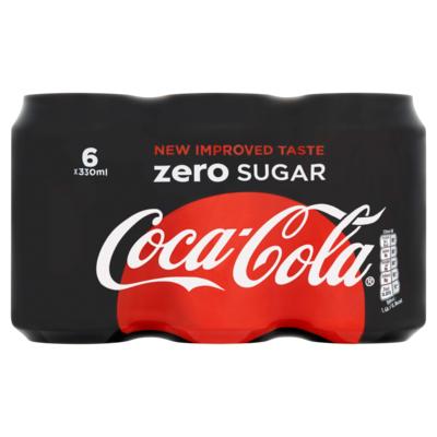Coca Cola Zero 6 x 33cl