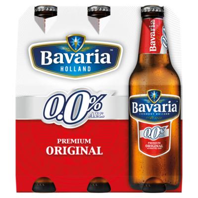 Bavaria 0.0% Original Pils Alcoholvrij Bier 6 x 30 cl
