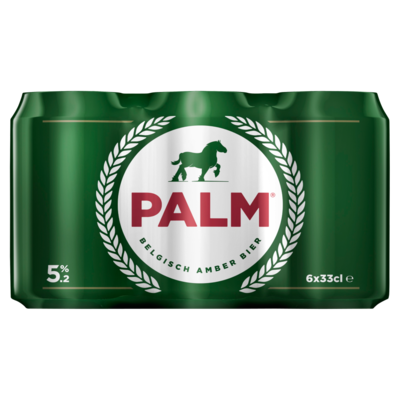 Palm PALM Blik 6 x 33 cl