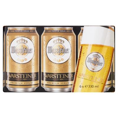 Warsteiner Bier 6 x 33cl