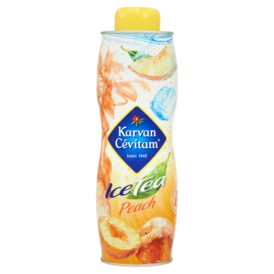 Karvan Cevitam Ice Tea Peach 750 ml