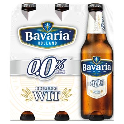 Bavaria Premium 0.0% Alcoholvrij Witbier 6 x 30 cl