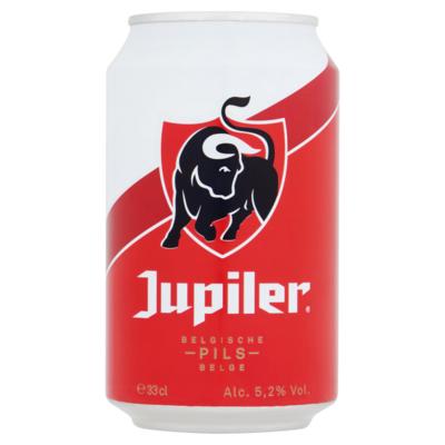 Jupiler Belgische Pils Blik 33 cl
