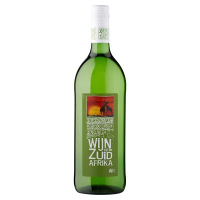 Landenwijn Wijn uit Zuid Afrika Wit 1 L