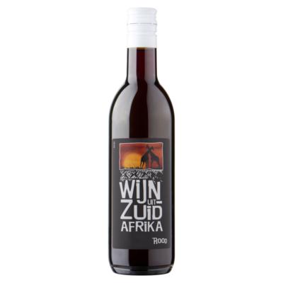 Landenwijn Wijn uit Zuid Afrika Rood 0,25 L