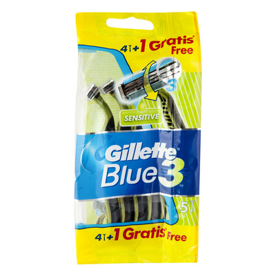 Gillette Blue III wegwerpmesjes sensitive