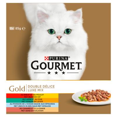 Gourmet Gourmet Gold Luxe Mix 8-pack 8 x 85 g