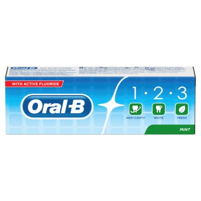 Oral B Tandpasta 1-2-3 fresh mint