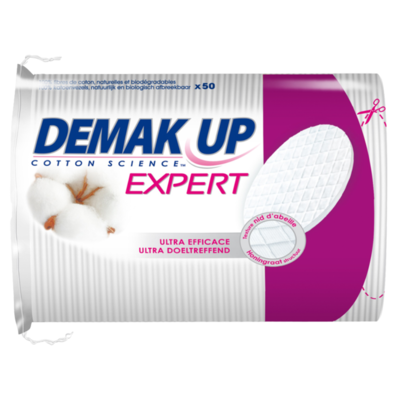 Demak'up Wattenschijfjes ovaal duo+