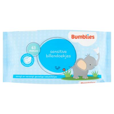 Bumblies Babydoekjes sensitive navulling
