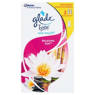 Glade by Brise One Touch Relaxing Zen Navullingen 2 x 10 ml