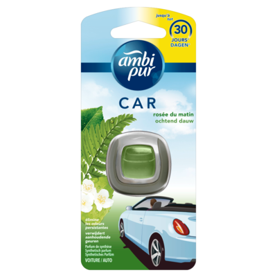 Ambi Pur Auto Ochtend Dauw Clip Luchtverfrisser 1 Eenheid