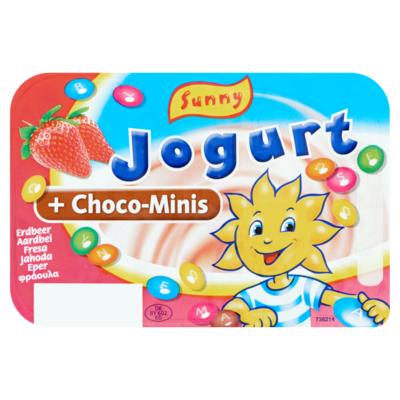 Sunny Jogurt Aardbei + Choco-Minis 120 g