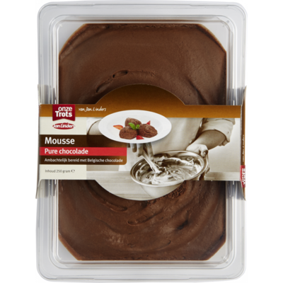 Onze Trots Mousse pure chocolade