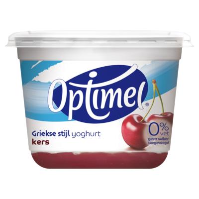 Optimel Yoghurt Griekse Stijl Kers 450 g