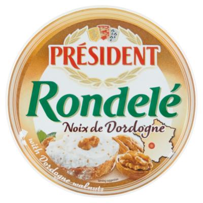 President Rondelé Noix de Dordogne Kaas 100 g