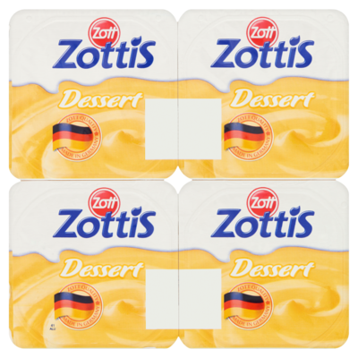 Zottis Vanillepudding 4-pack
