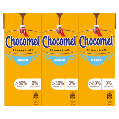 Chocomel Mager Multipack 6 x 200 ml