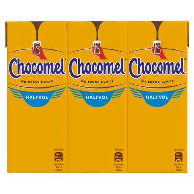 Chocomel Halfvol Multipack 6 x 200 ml