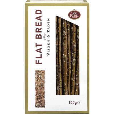 Jos Poell Flat bread vijgen & zaden