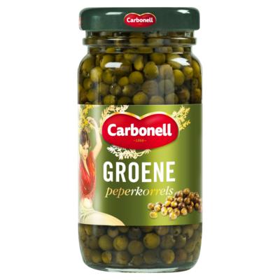 Carbonell Groene Peperkorrels 100 g