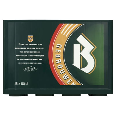 Brand Bier 18 x 50cl