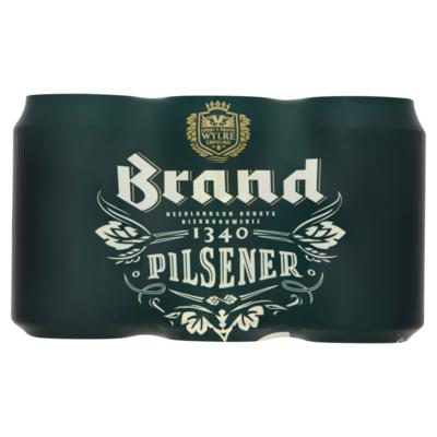 Brand Bier Blik 6 x 33 cl