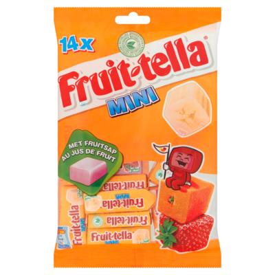 Fruittella Mini uitdeelzak