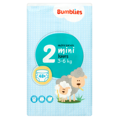 Bumblies Luiers mini 3-6 kilogram
