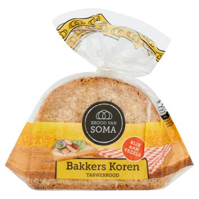 Soma Bakkers Koren Tarwebrood 400 g