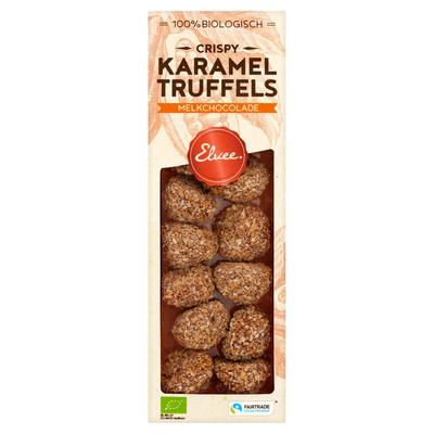 Elvee Karamel Truffels Biologisch 140 g